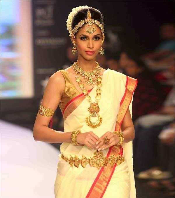 South Indian Bridal Saree | Male Models Picture
