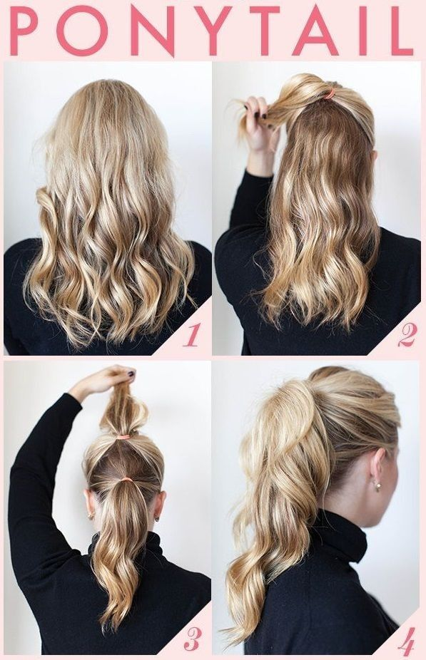 Pleasant 6 Easy Hairstyles For Long Hair Indian Makeup And Beauty Blog Hairstyles For Women Draintrainus