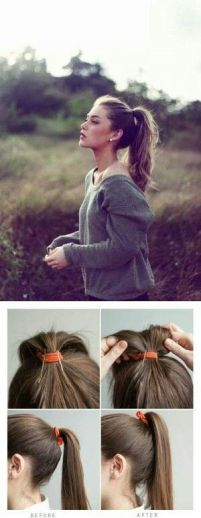 easy hairstyles for long hair 05
