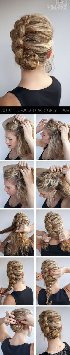 Hairstyles for curly hair 36