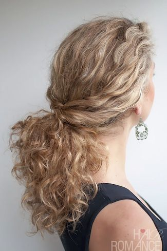 Hairstyles for curly hair 45