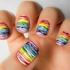 Latest nail art designs 07