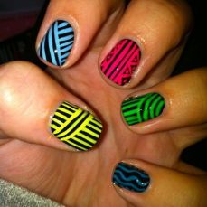 Latest nail art designs 08