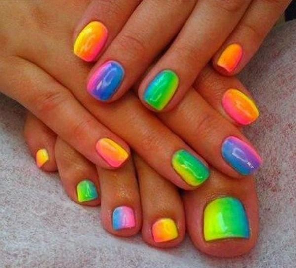 22 Latest Nail Art Designs To Flaunt This Holi Indian Makeup And