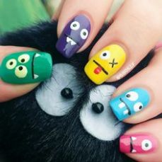 Latest nail art designs 021
