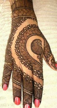 mehndi design for the summer bride 01