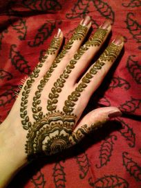 mehndi design for the summer bride 03