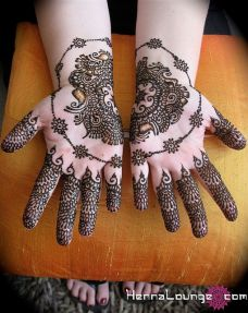 mehndi design for the summer bride 09