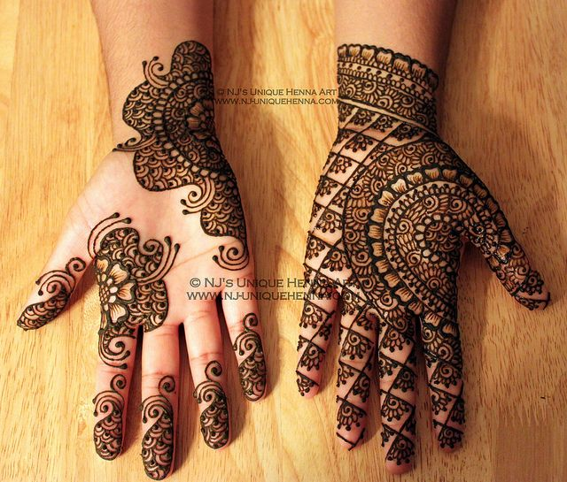 Mehndi Hand With Eye : Mehndi design for the summer bride indian makeup and