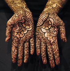 mehndi design for the summer bride 29