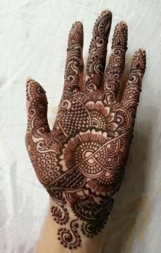 mehndi design for the summer bride 37