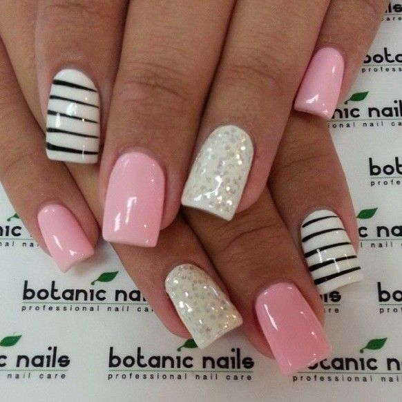 Pics of latest nail art designs : New nail art designs inspired by summer indian