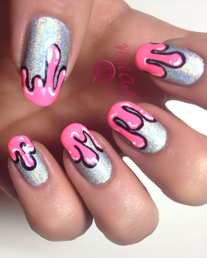 25 New Nail Art Designs Inspired By Summer'2015