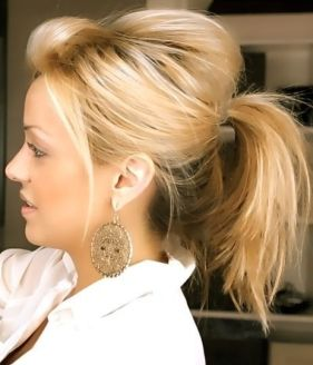 Easy hairstyles for medium length hair 01