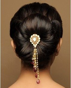 Indian bridal hairstyle images 01