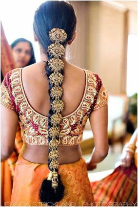 Indian bridal hairstyle images 02