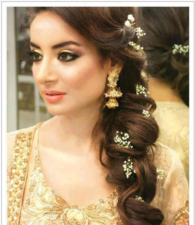 ... Hair Style Top 35 indian bridal hairstyle images indian makeup and