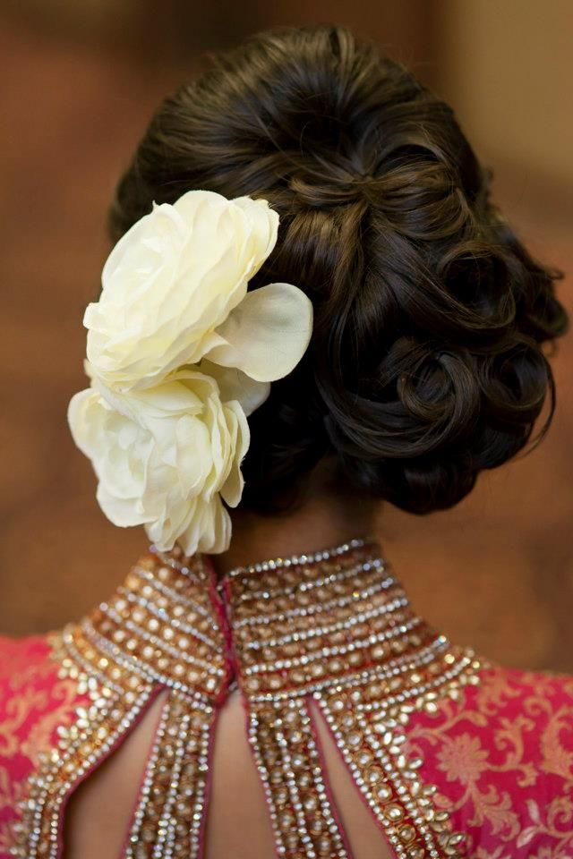 Indian Bridal Hairstyle Images 06 Indian Makeup And Beauty Blog