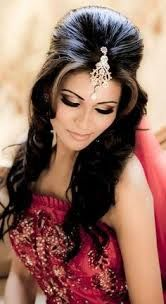 Indian bridal hairstyle images 07