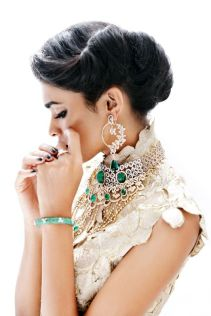 Indian bridal hairstyle images 20