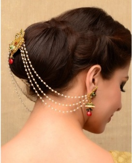 Indian bridal hairstyle images 26