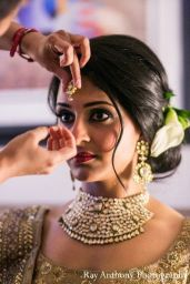Indian bridal hairstyle images 28
