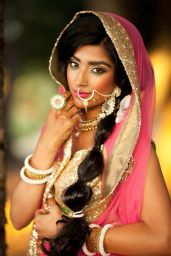 Indian bridal hairstyle images 30