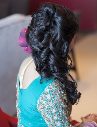 Indian bridal hairstyle images 31