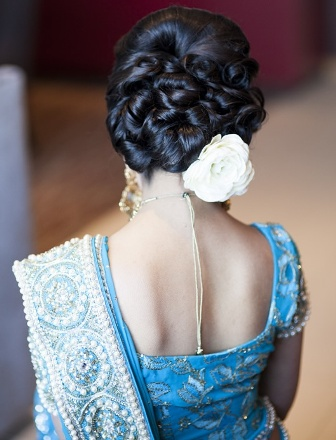 Indian bridal hairstyle images 32