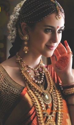 Indian bridal hairstyle images 34