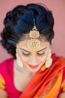 Indian bridal hairstyle images 35