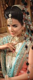 Indian bridal hairstyles 46