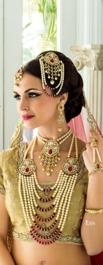 Indian bridal hairstyles 48