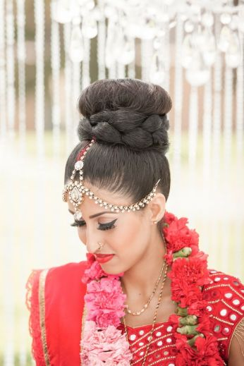 Indian bridal hairstyles 54