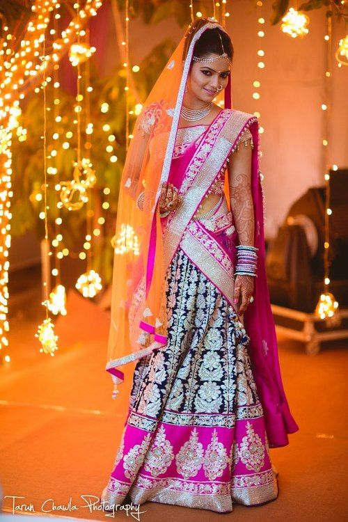 42e2e337fe indian brides in bridal lehengas 10 | Indian Makeup and Beauty Blog ...