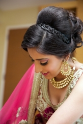 Indian summer wedding hairstyles 01