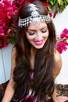 Indian summer wedding hairstyles 05