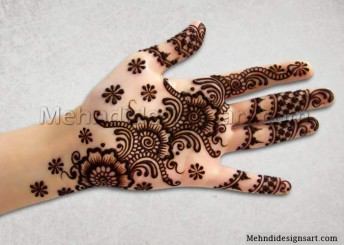 Latest Arabic mehndi design photos 01