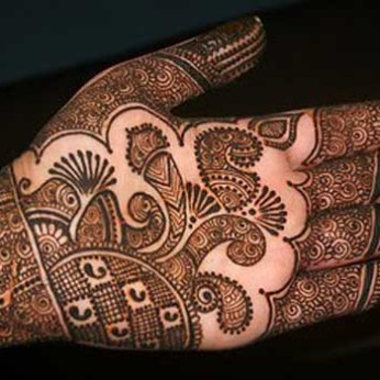 Latest Arabic mehndi design photos 03