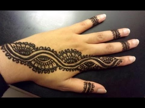 Latest Arabic mehndi design photos 13