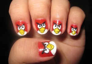 Nail art designs inspired by games 01