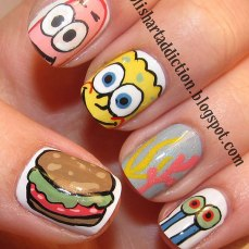 Nail art designs inspired by games 04