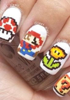 Nail art designs inspired by games 05