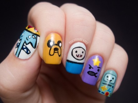 Nail art designs inspired by games 07