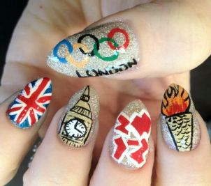 Nail art designs inspired by games 14