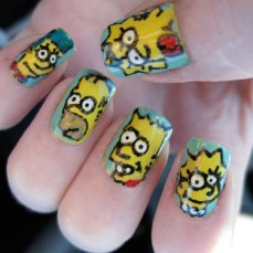 Nail art designs inspired by games 15