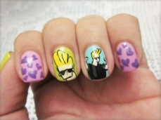 Nail art designs inspired by games 16