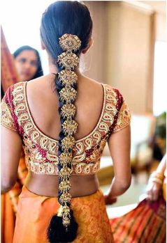 South Indian Bridal Hairstyles 01