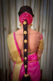 South Indian Bridal Hairstyles 03
