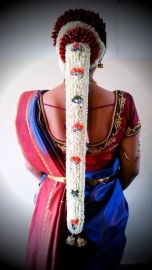 South Indian Bridal Hairstyles 04